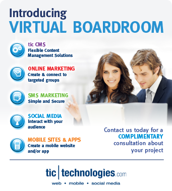 tic technologies Virtual Board Room